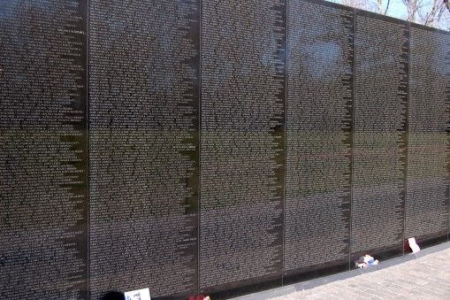 Vietnam War Memorial in D.C.
